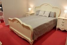 Кровать Парма 58-02/59-02, тумба Парма 30-02.
